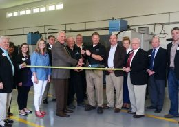 true position manufacturing ribbon cutting